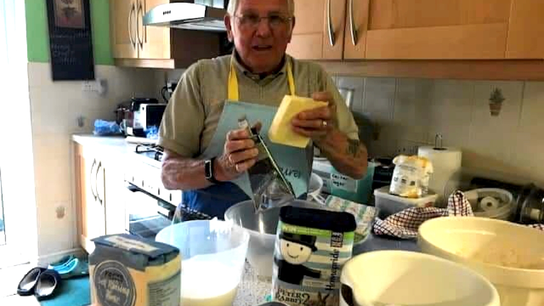 Ron baking for the 2.6 Challenge